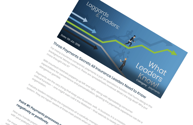 Blog Image: Three Payments Secrets All Insurance Leaders Need to Know