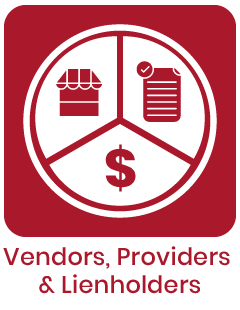 Claims Vendors, Providers, & Leanholders FAQ Image